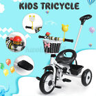 Convertible Children's Tricycle Baby Trike Stroller Kids Bike for 1-6 Year