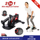 ANCHEER Under Desk Elliptical Machine Home Bikes Trainer with Display Monitor