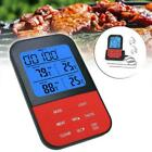 Digital Wireless Thermometer LCD BBQ Meat Grill Kitchen Food Probe Cooking R9G1