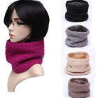Baby Warm Scarf Solid Color Wool Knitting Plus Velvet Couples Joker Collar