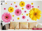 Home Decor Art Vinyl Chrysanthemum Mural Wall Decals Removable Stickers Bedroom