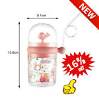 260ml Cute Whale Water Cups Kids Water Spray Cup Baby Feeding With Straw Mug