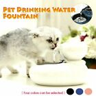 Automatic Electric Pet Water Fountain Dog Cat Drinking Bowl Dispenser + USB UK