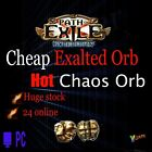 POE Exalted Orb ULTIMATUM League Path of Exile Ex Chaos Orb PC SC Exalt Orbs