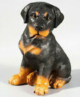 Dog Cremation Urn For Pet Ashes Rottweiler Statue Memorial Grave Ornament Animal