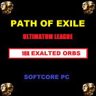 Path of Exile Exalted Orbs Ultimatum League (POE) | Softcore | PC