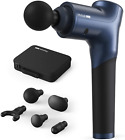 Percussion Massage Gun with Slender Handle for Back 8 Speeds Modes Deep Tissue