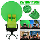 75/110/142cm Round Green Backdrop Photography Background Screen For Photo Video