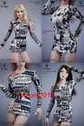 SA Toys 1:6 Personality Poster Tight Skirt Clothes F 12'' Female TBL Phicen Body