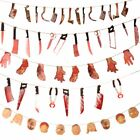 Halloween Party Halloween Banner Bloody Garland Party Decorations Supplies