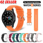 For Samsung Galaxy Watch 4 Classic 46mm 42mm 44mm 40mm Silicone Wrist Strap Band
