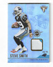 STEVE SMITH 2001 PACIFIC TITANIUM ROOKIE RELIC PATCH #158 04/75 $50.00 PANTHERS