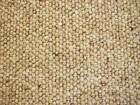 N8, 100% WOOL BERBER CARPET ANY SIZE X 4M, LINEN