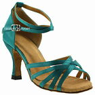 TPS Latin Ballroom Salsa Custom-made Dance Shoes D278