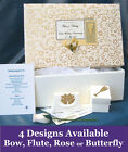 PERSONALISED 50th Golden Anniversary Keepsake Box + Extras A19