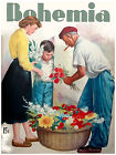 "094.Cuban Quality Design poster""Flower Vendor""Vendedor de flores.interior Decor"