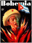 """406.Cuban Quality Design poster""""Motherland is on Fire""""Cuba Freedom Struggle"""