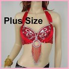 PLUS SIZEBelly Dance Bra Top Samba Dancing Costume AR02 XL