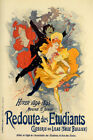 1894 REDOUTE DES ETUDIANTS STUDENTS DANCE PARTY FRENCH VINTAGE POSTER REPRO