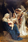 SONG OF ANGELS VIOLIN BOUGUEREAU REPRO PAPER CANVAS
