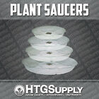 CLEAR PLASTIC VINYL PLANTER POT/BAG SAUCERS 9, 11, 13, & 15 INCH SIZES