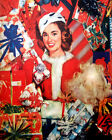 1617 Santa's helper surrounded by presents quality POSTER.wall Decorative Art.