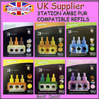 3TATION BUMPER FRESH COMPATIBLE 8X REFILS REFILLS AMBI PUR 3VOLUTION SCENT AROMA