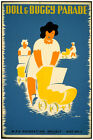2676.Doll and buggy parade WPA Baby stroller POSTER.Room design Decor Art.