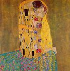 "The Kiss 2 by Gustav Klimt  20""x20"" Canvas Art Print"