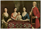 Wall Decor Poster. Family awaiting to sing historical. Art Design. Room art.1564