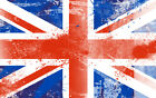 36 x 24 Union Jack British Flag Canvas Wall Art Print