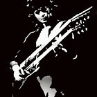 Jimmy Page Led Zeppelin Stencil reusable airbrush stencil style art various size