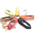 New Sales Womens Mother's Casual Slip on Shoes PU Leather Ballet Flats Free Ship
