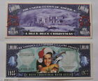 In Memory of Elvis Presley King of Rock and Roll Blue Christmas Collectable Bill
