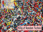 Lego Technic 500g 1/2 kg Mixed Bricks Pins Axles - All clean and genuine - bulk