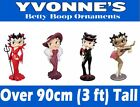 NEW Betty Boop LARGE Figures Ornament New, Boxed 3ft & 5ft Waitress Madam & More