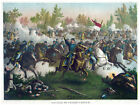 Decor War Poster.Fine Graphic Art. Battle of Cedar Creek. Home Wall Design. 1215