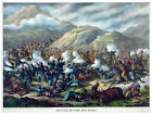 Decor Poster.Fine Graphic Art. Battle of pea Ridge Ark. Home Wall Design. 1219