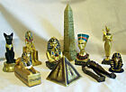 Egyptian Sphinx, Gold Tutankhamen, Black & Gold Bast, Obelisk, Pyramid, Rameses