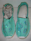 LADIES ESPADRILLES SHOES (Mint green)