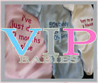 FUNNY BABY GROW VESTS GIFT BOYS GIRLS PERSONALISED CHRISTENING BIRTHDAY GIFTS