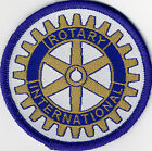 Rotary International Official Badges Patches 71mm Diameter UK Manufactured