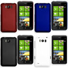 Hybrid Hard Case Cover For HTC Titan + LCD Screen Protector