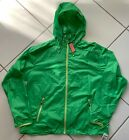 Vineyard Vines Men's Full Zip Windbreaker With Hood Yacht Green L XL