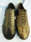 MENS CASUAL LACE UP LEATHER/TEXTILE UPPERS (BAMBOO THUNDERBIRD)