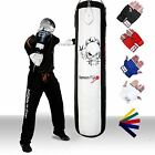 TurnerMAX Quality Punch Bag Punching Bag Boxing Kickboxing martial Art White BLK