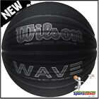 Wilson WAVE CARBON BLACK Limited Edition Basketball Ball Adults Size 7 rrp £30