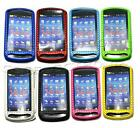 1x New 8colors Mesh Perforated hard case cover for Sonyericsson Xperia pro MK16i