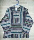 SMALL Many styles YOU CHOOSE  Baja Surfer Hoodie Skater Jacket Mexican Poncho
