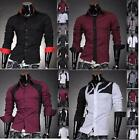 JS Men's Designer Slim Long Casual Shirts Western Tops S M L XL Best Collection